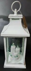 LEAF DESIGN LED Light Lantern Home Candle Holder Decoration Indoor/Outdoor
