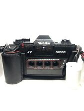 WORKING VINTAGE NISHIKA N8000 35MM 3-D CAMERA