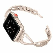 Stainless Steel Watch Band Strap for Apple Watch iWatch 38m 42mm Serial 1 2 3 4