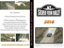 Silverfern Rally 2016 - New Zealand - Ford Escort Marthaon Rally RWD Gravel
