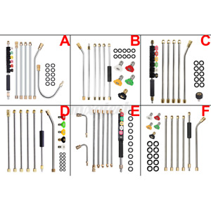 Many Types High Pressure Kit Extension Washer Lance Gun Cleaner Spray Rod