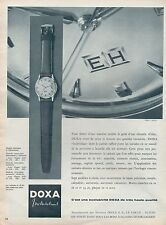 ▬► PUBLICITE ADVERTISING AD MONTRE WATCH DOXA Individual