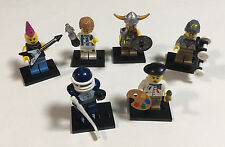 LEGO 8804 Series 4 Minifigures Lot of 6 RETIRED Figures, Opened