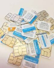 Lot Of 100 New At&T Nano Sim Cards Sku 6944A Lte GoPhone Never Activated