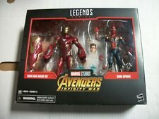 Marvel Legends Avengers Infinity War IRON MAN MARK 50 & SPIDER-MAN 2 Pack NEW