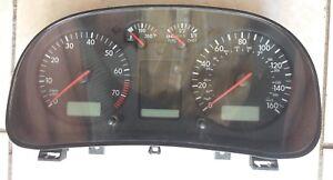2000 2001 Volkswagen Golf & Jetta 1J0920900K Instrument Cluster Gauges