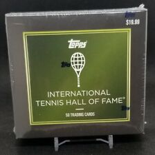 2019 Topps International Tennis Hall of Fame 50 Card Complete Set Factory