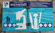 VINTAGE LIONEL-PORTER MICROCRAFT MICROSCOPE LAB