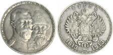 Russland 1 Rubel 1913  ss-vz,kl. Kratzer