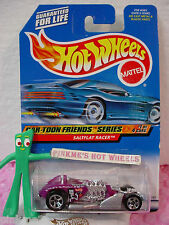 1999 Hot Wheels Natasha SALTFLAT RACER #985 purple; 5sp **CAR-TOON FRIENDS