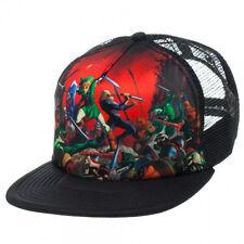 New Nintendo ZELDA OCARINA OF TIME Era Mesh Trucker Hat Snapback Men's Cap COOL