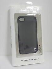 Skullcandy Trace Slim Hard Shell Case Cover for iPhone 4/4S Frost Black NEW