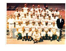 1960 PHILADELPHIA PHILLIES TEAM PHOTO ROBERTS CALLISON  BASEBALL HOF MLB
