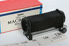 Spiratone Rapid Rail Macrobel Bellows For Canon Manual Focus  FD lens