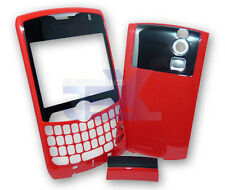Verizon/Sprint Blackberry Curve 8330 Red Housing Case Cover Front/Back/Clip