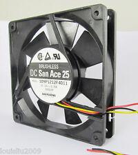 10pcs SANYO 109P1212F4011 120mmx120mmx25mm 12025 DC 12V 0.25A Brushless Fan