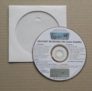 HEATH SB-200 Upgrades Repairs Videos & most important Websites Embedded in a DVD