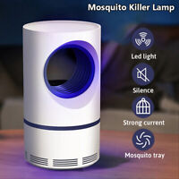 USB Mosquito Killer Lamp Electric Pest Repeller Zapper Insect Trap Home Bedroom