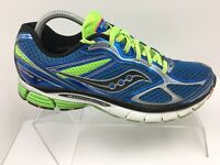 Saucony Guide 7 Blue/Green Athletic Running Shoes Sneakers Men's Size 9