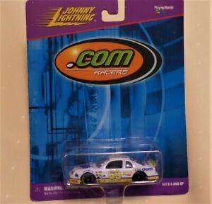 Johnny Lightning Playing Mantis CBS Sports Nascar - .COM RACERS - 1:64 scale