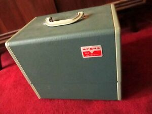 Vintage ARGUS 300 Automatic 35mm Slide Changer Projector w Bulb TESTED BULB OK