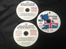 NAVIDRIVE NAVTEQ RT3 SAT NAV UPDATE DISC CITROEN PEUGEOT FIAT & FREE 2017 MAP CD