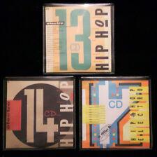 STREET SOUNDS 12 & 13 & 14 CDs HIP HOP