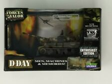 Forces Of Valor Unimax 1:72 German Tiger I Tank Normandy 1944 D-DAY 85604 SEALED