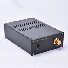 Black Aluminum Enclosure Case Power amp Chassis PSU box  220*90*311mm    L14-35