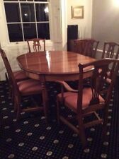 More than 8 Oval Table & Chair Sets with Extending