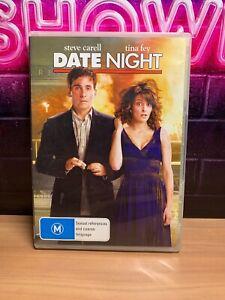 Date Night DVD Steve Carell Tina Fey Mark Wahlberg Comedy Region 4- FREE POST