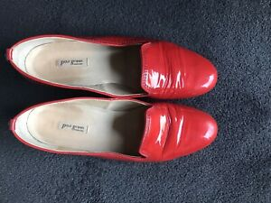 Paul Green patent leather shoes ORANGE 41