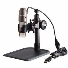 AmScope 5X-500X 2Mp Handheld Usb Digital Zoom Microscope w Led Illumination