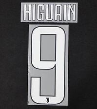 Juventus Turin Higuain Name Set 2017/2018 home Juve Serie A Italy Flock