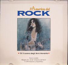 L'AMERICA DEL ROCK n.13 cd promo FRANK ZAPPA IGGY POP BEN HARPER BLIND MELON