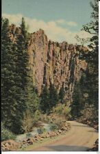 palisades cimmaron canyon new mexico postcard