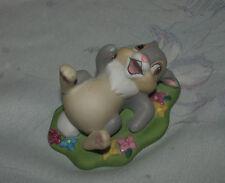 "Disney Grolier Bambi Thumper Ceramic Porcelain Figure Statue  2"" inches"