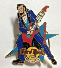 Hard Rock Cafe Orlando LE Pin 4th of July 2004 Lincoln Guitar