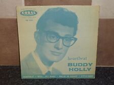 BUDDY HOLLY 'HEARTBEAT EP CORAL FEP2015 VGC