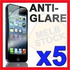 5 x Anti Glare Matte Screen Protector LCD Film Guard for Apple iPhone 5 5G SE