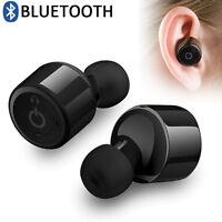 Wireless Bluetooth 4.2 CSR Mini Twins Stereo MIC In-Ear Headset Earphone Earbuds