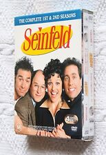 Seinfeld- the complete 1st and 2nd  season (DVD), R-4, LIKE NEW, FREE SHIPPING