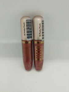 MILANI CRYSTAL GLOSS FOR LIPS - 19 pretty plush  NEW SEALED lot of 2.
