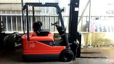 Toyota 1.8 Ton 3 Wheel Electric Forklift 6000mm Lift New Battery Fresh Paint