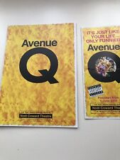 AVENUE Q Programme And Flyer WESTEND