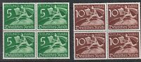 Stamp Germany Mi 738-9Z Sc P1-2 Block 1939 WWII Third Reich Newspaper Worker MNH
