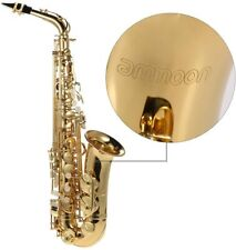 Saxophon ammoon bE Alt Blech Lackiertes Goldenes E Flache Sax 802 Taste Typ