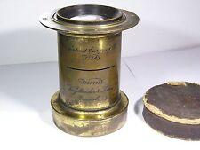 Brass Lens Voigtlander & Sohn Portrait Euryscop III No.3A #41713 Braunschweig