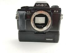 Minolta X-9 35mm SLR Film Camera -Free Shipping