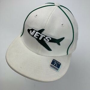 New York Jets Reebok Football Ball Cap Hat Fitted 7 1/4 Baseball